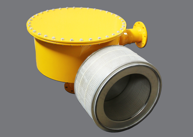 Gas Filter with Body