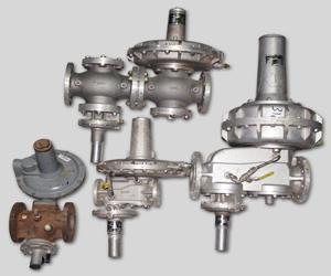 Gas Regulator with Safety Shutt-Off Valve