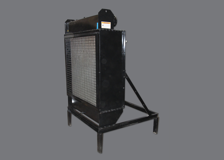 Front View Stand type Remote Radiator