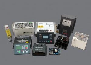 Woordward, Comap, Amco, Basler Electric, Stamford, Siemens, Victron Energy.